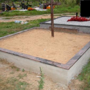 Kapų tvarkymas, dengimas granito plokštėmis, Paminklai / Paulius Latvys / Darbų pavyzdys ID 41882
