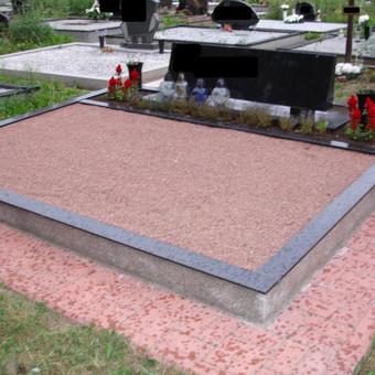 Kapų tvarkymas, dengimas granito plokštėmis, Paminklai / Paulius Latvys / Darbų pavyzdys ID 41880