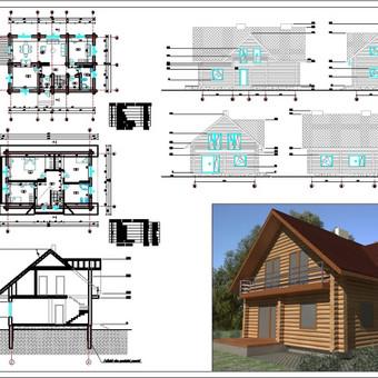 Architektė Vilniuje / Milda Stalioriūtė / Darbų pavyzdys ID 42504