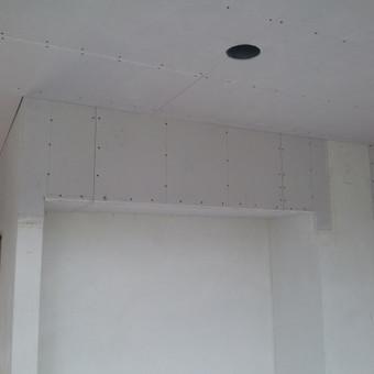 Gipso kartono montavimas Klaipėdoje / Egidijus Razmas / Darbų pavyzdys ID 42700