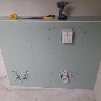 Gipso kartono montavimas Klaipėdoje / Egidijus Razmas / Darbų pavyzdys ID 42709