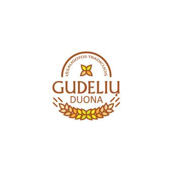 Gudelių duona - kaimiška duona ir pyragai       Logotipų kūrimas - www.glogo.eu - logo creation.