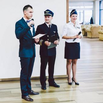 Vestuvės gali turėti savo temą ir pilotai jus gali pakviesti meilės kelionei po pasaulį