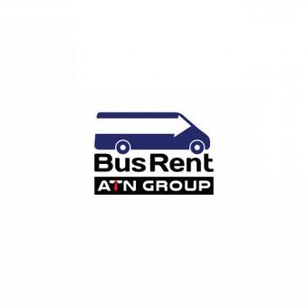 """""""ATN Group. BusRent"""" logotipas.  © Tatjana Iljina"""