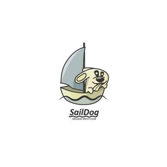 SailDog - yacht club, laisvas logotipas, PARDUODAMAS        Logotipų kūrimas - www.glogo.eu - logo creation.