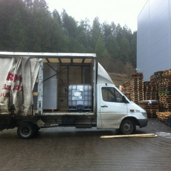 Krovinių pervežimas / Dainius / Darbų pavyzdys ID 44639