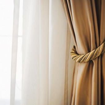Miegamojo interjero dekoravimas. Palanga. 2014 m.