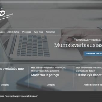 Internetinė svetainė RpDevelopers.lt