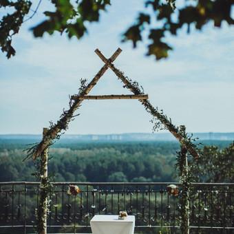 Išeinamoji ceremonija Vilniaus Verkių regioniniame parke.