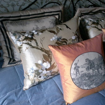 Interjero tekstilės siuvimas / Ilona Volkova / Darbų pavyzdys ID 46416