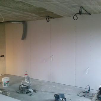 Gipso kartono montavimas Klaipėdoje / Egidijus Razmas / Darbų pavyzdys ID 46937