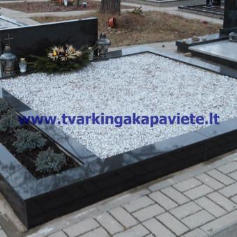 Kapų tvarkymas, paminklų gamyba, granito plokštės kapams / Artur Osipovič / Darbų pavyzdys ID 47030