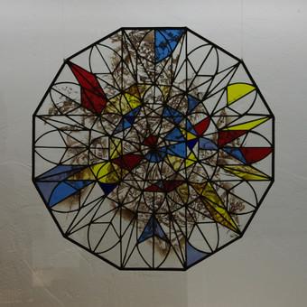 Vitražai, stiklo interjero detalės / Evelina Januškaitė / Darbų pavyzdys ID 47277