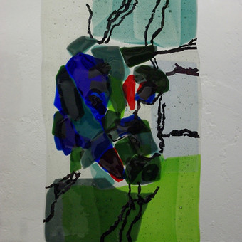 Vitražai, stiklo interjero detalės / Evelina Januškaitė / Darbų pavyzdys ID 47282