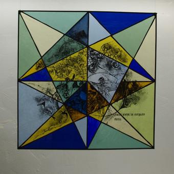 Vitražai, stiklo interjero detalės / Evelina Januškaitė / Darbų pavyzdys ID 47283