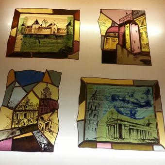 Vitražai, stiklo interjero detalės / Evelina Januškaitė / Darbų pavyzdys ID 47287