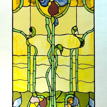 Vitražai, stiklo interjero detalės / Evelina Januškaitė / Darbų pavyzdys ID 47289