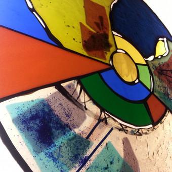 Vitražai, stiklo interjero detalės / Evelina Januškaitė / Darbų pavyzdys ID 47286