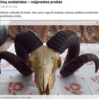 Portaluose Lrytas.lt, 15min.lt, Lrt.lt ir kituose publikuotas mano parengtas pranešimas spaudai apie keisčiausius parduodamus daiktus lietuviškuose skelbimų tinklalapiuose.