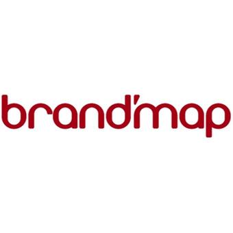 """Brandmap"" logotipas."
