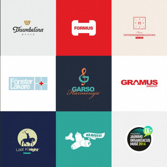 Logotipai https://www.behance.net/gallery/24879495/Logotype-collection-