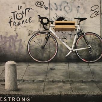 2012 GATVĖ2012 GATVĖ Vilnius, LIETUVA Šis sienų tapybos projektas surinko didžiausią taškų skaičių  2012  interjero dizaino  konkurse. Dizaineriui Rimantui Špokui norėjosi neeilinio sprendimo, tad dviratį jis nusprendė eksponuoti kaip interjero akcentą.