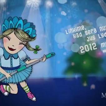 Manjana šventinis sveikinimas 2011