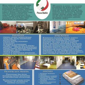 """Pramoninės ir dekoratyvinės liejamos grindys / UAB """"PavaBaltic"""" / Darbų pavyzdys ID 49861"""