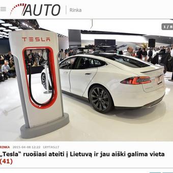 """Įgyvendinau informacinę kampaniją, kurios metu Lietuvos visuomenė buvo informuota apie JAV kompanijos """"Tesla Motors"""" ketinimus žengti į mūsų šalį. Apie tai pranešė visos pagrindinės Lietuvos žiniasklaidos priemonės."""