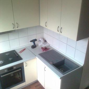 Virtuvės Baldų Gamyba / Virtuvės baldai / Darbų pavyzdys ID 50325