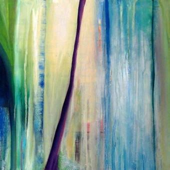 ,, Kolibrija ,, 50 x 100 aliejus , drobė parduotas