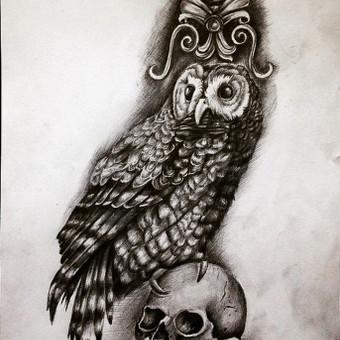Tatuiruotės, tatuiruočių salonas / Vestina Jocaitytė / Darbų pavyzdys ID 50502