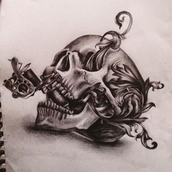 Tatuiruotės, tatuiruočių salonas / Vestina Jocaitytė / Darbų pavyzdys ID 50500