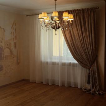 Užuolaidų dizainerė Inesa Pečiulienė / Inesa Peciuliene / Darbų pavyzdys ID 51865