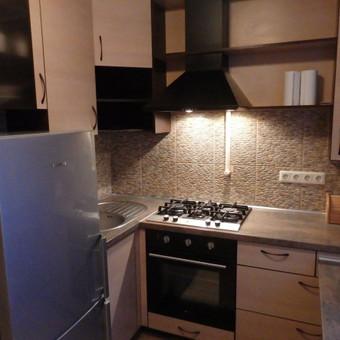 Daugiabučio virtuvė II  (5.5 kv. m)