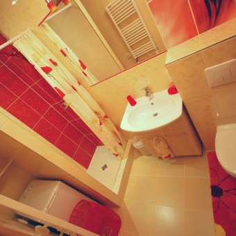 Vonios kambarys 4 kv. m