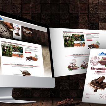 """Web svetainės dizainas, reklaminių skydelių dizainas Užsakovas: """"AT Innovations"""" (Estija)"""