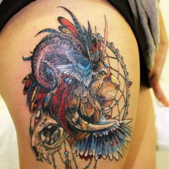 Tatuiruotės, tatuiruočių salonas / Ernesta / Darbų pavyzdys ID 53183