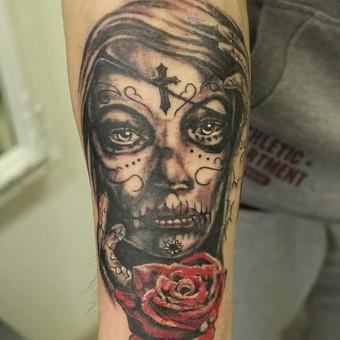 Tatuiruotės, tatuiruočių salonas / Ernesta / Darbų pavyzdys ID 53182
