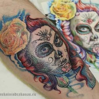 Tatuiruotės, tatuiruočių salonas / Ernesta / Darbų pavyzdys ID 53185