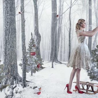 Meninė fotografija, manipuliacijos, komercinė, iliustracija