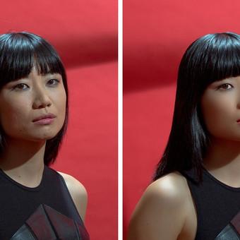 Foto: Horacio Casadey veido retušavimas (prieš ir po)
