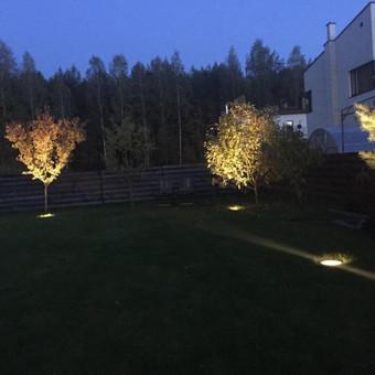 iGuzzini šviestų montavimas