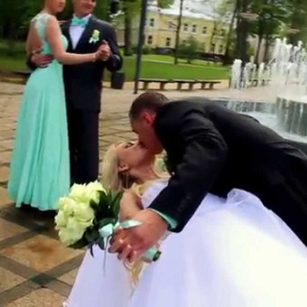 Vestuvinis klipas Nr. 1