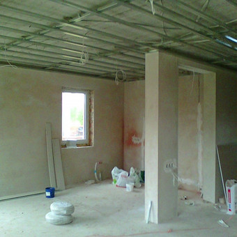 Gyvenamo namo elektros instaliacijos, apsaugos signalizacijos, priešgaisrinės signalizacijos montavimas Vilniuje