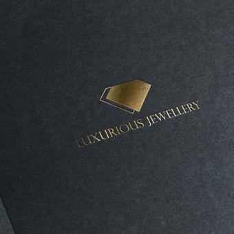 Luxurious jewellery logotipas