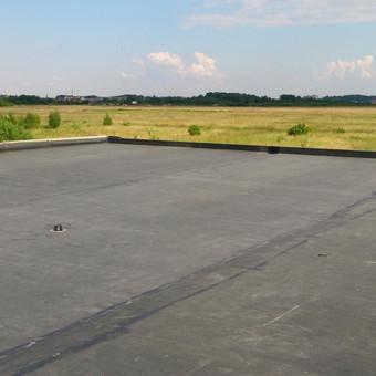 Plokščio stogo dangos įrengimas