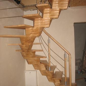 sukti laiptai