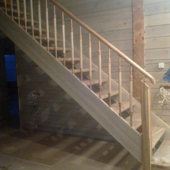 Laiptai sodyboj