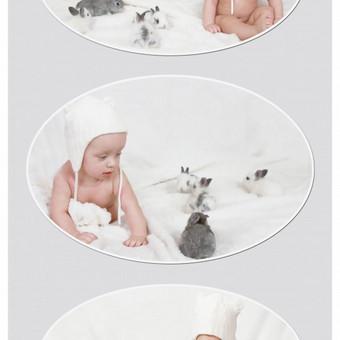 Kūdikio fotosesija nuo 40 eurų.